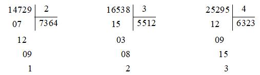 Giải bài 1 trang 164 sgk Toán 3 | Để học tốt Toán 3