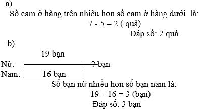 Giải bài 3 trang 12 sgk Toán 3 | Để học tốt Toán 3