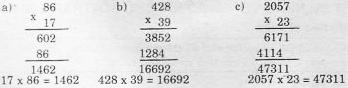Giải bài 1 trang 69 sgk Toán 4   Để học tốt Toán 4