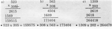 Giải bài 1 trang 73 sgk Toán 4 (Tiếp theo) | Để học tốt Toán 4