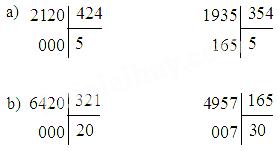 Giải bài 1 trang 86 sgk Toán 4 | Để học tốt Toán 4