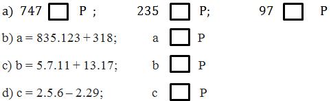 Giải bài 165 trang 63 SGK Toán 6 Tập 1 | Giải toán lớp 6