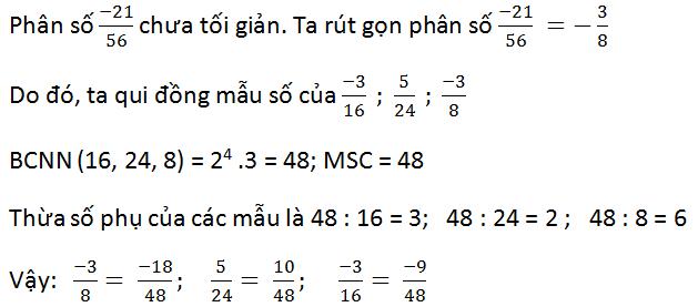 Giải bài 28 trang 19 SGK Toán 6 Tập 2 | Giải toán lớp 6