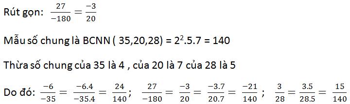 Giải bài 33 trang 19 SGK Toán 6 Tập 2 | Giải toán lớp 6