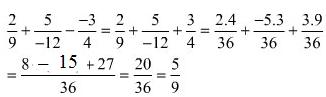 Giải bài 67 trang 35 SGK Toán 6 Tập 2 | Giải toán lớp 6