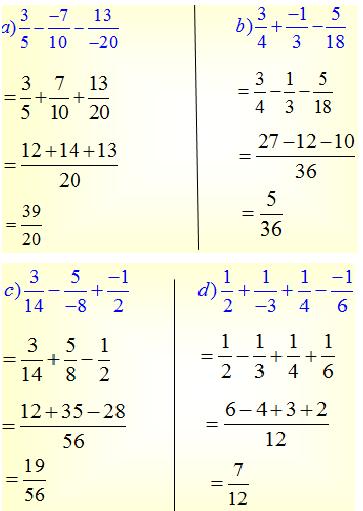 Giải bài 68 trang 35 SGK Toán 6 Tập 2 | Giải toán lớp 6