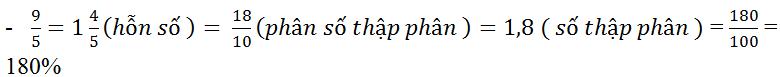 Câu hỏi ôn tập chương 3 trang 62 SGK Toán 6 Tập 2 | Giải toán lớp 6
