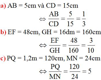 Giải bài 1 trang 58 SGK Toán 8 Tập 2 | Giải toán lớp 8