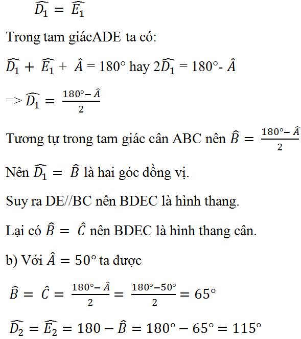 Bài 15 trang 75 Toán 8 Tập 1 | Giải bài tập Toán 8 và Để học tốt Toán 8 hay  nhất tại VietJack