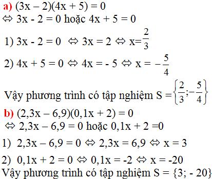 Giải bài 21 trang 17 SGK Toán 8 Tập 2 | Giải toán lớp 8