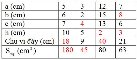 Giải bài 24 trang 111 SGK Toán 8 Tập 2 | Giải toán lớp 8