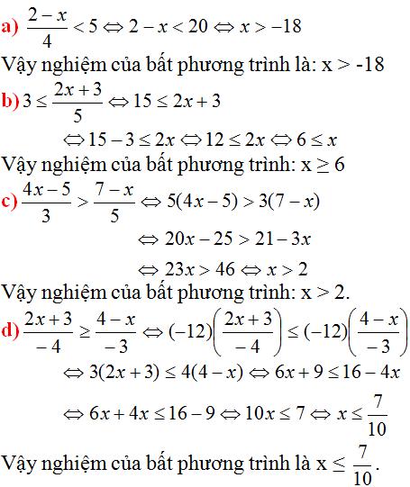 Giải bài 41 trang 53 SGK Toán 8 Tập 2 | Giải toán lớp 8