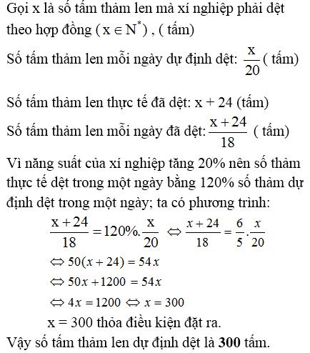 Giải bài 45 trang 31 SGK Toán 8 Tập 2 | Giải toán lớp 8