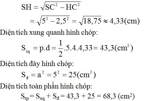 Giải bài 48 trang 125 SGK Toán 8 Tập 2 | Giải toán lớp 8