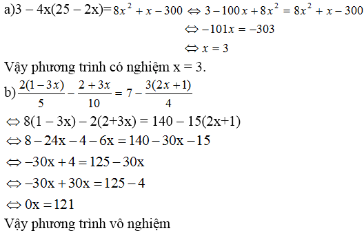 Giải bài 50 trang 33 SGK Toán 8 Tập 2 | Giải toán lớp 8