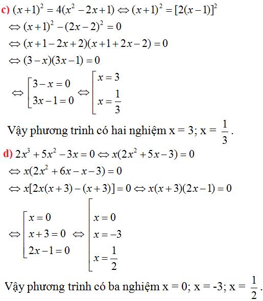 Giải bài 51 trang 33 SGK Toán 8 Tập 2 | Giải toán lớp 8