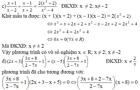 Giải bài 52 trang 33 SGK Toán 8 Tập 2 | Giải toán lớp 8