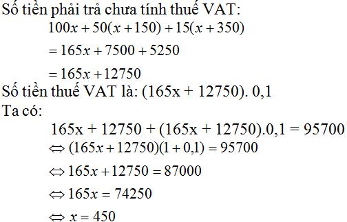 Giải bài 56 trang 34 SGK Toán 8 Tập 2 | Giải toán lớp 8