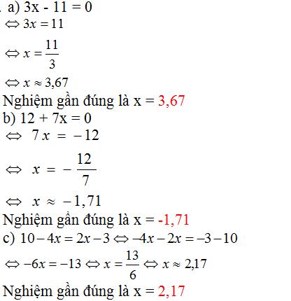 Giải bài 9 trang 10 SGK Toán 8 Tập 2 | Giải toán lớp 8
