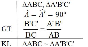 Câu hỏi ôn tập chương 3 phần hình học Toán 8 Tập 2 | Giải toán lớp 8
