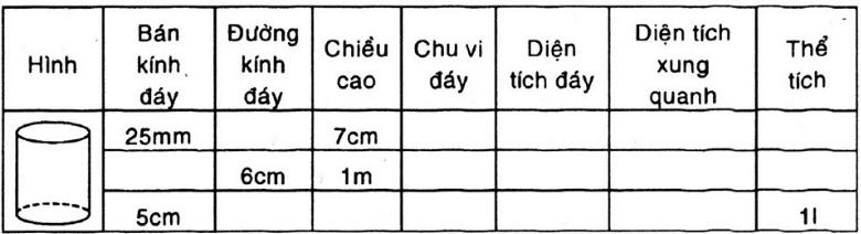 Giải bài 12 trang 112 SGK Toán 9 Tập 2 | Giải toán lớp 9
