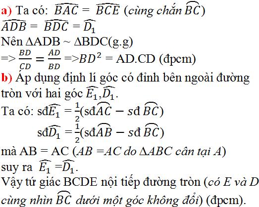 Giải bài 15 trang 135 SGK Toán 9 Tập 2 | Giải toán lớp 9