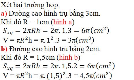 Giải bài 16 trang 135 SGK Toán 9 Tập 2 | Giải toán lớp 9