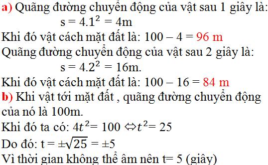 Giải bài 2 trang 31 SGK Toán 9 Tập 2 | Giải toán lớp 9