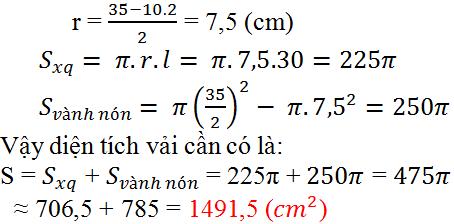 Giải bài 21 trang 118 SGK Toán 9 Tập 2 | Giải toán lớp 9