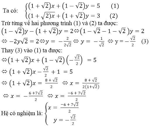 Giải bài 23 trang 19 SGK Toán 9 Tập 2 | Giải toán lớp 9