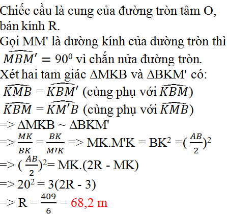 Giải bài 24 trang 76 SGK Toán 9 Tập 2 | Giải toán lớp 9