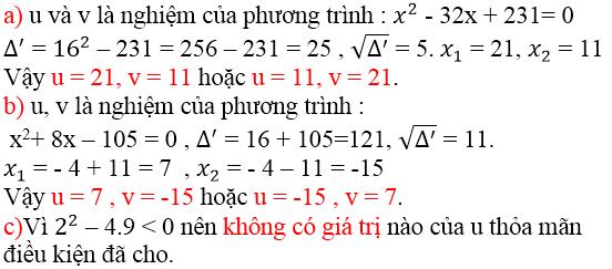 Giải bài 28 trang 53 SGK Toán 9 Tập 2 | Giải toán lớp 9