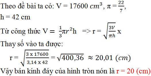 Giải bài 29 trang 120 SGK Toán 9 Tập 2   Giải toán lớp 9