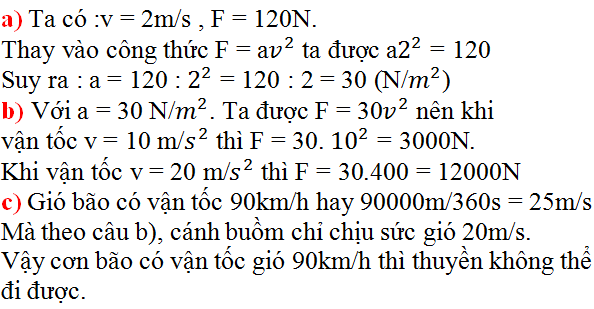 Giải bài 3 trang 31 SGK Toán 9 Tập 2 | Giải toán lớp 9