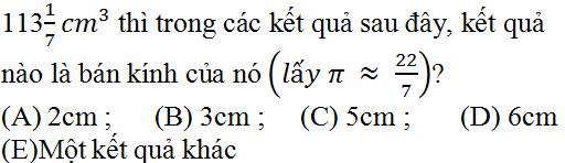 Giải bài 30 trang 124 SGK Toán 9 Tập 2 | Giải toán lớp 9
