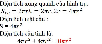 Giải bài 32 trang 125 SGK Toán 9 Tập 2 | Giải toán lớp 9