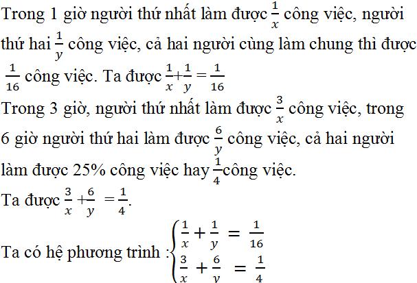 Giải bài 33 trang 24 SGK Toán 9 Tập 2   Giải toán lớp 9