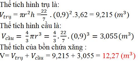 Giải bài 35 trang 126 SGK Toán 9 Tập 2 | Giải toán lớp 9