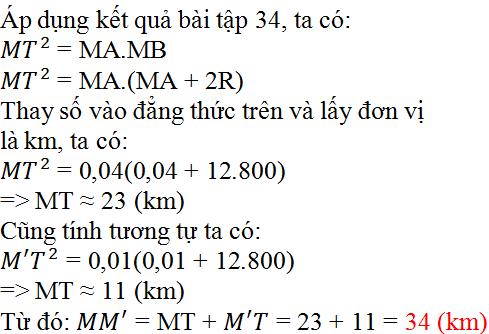 Giải bài 35 trang 80 SGK Toán 9 Tập 2 | Giải toán lớp 9