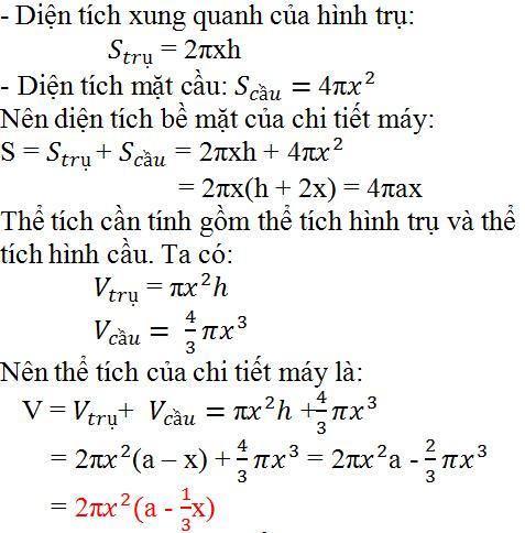 Giải bài 36 trang 126 SGK Toán 9 Tập 2 | Giải toán lớp 9