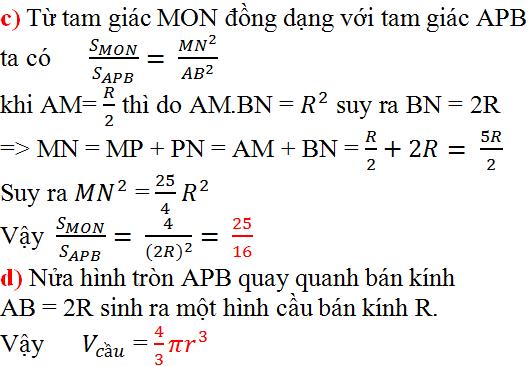 Giải bài 37 trang 126 SGK Toán 9 Tập 2 | Giải toán lớp 9