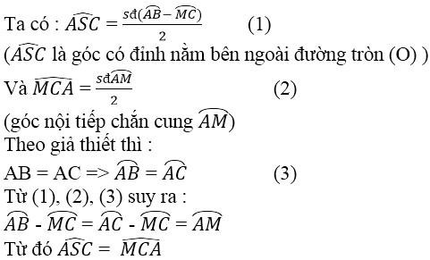 Giải bài 37 trang 82 SGK Toán 9 Tập 2 | Giải toán lớp 9