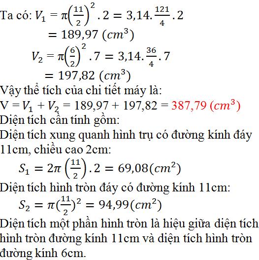 Giải bài 38 trang 129 SGK Toán 9 Tập 2 | Giải toán lớp 9