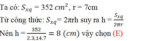 Giải bài 4 trang 110 SGK Toán 9 Tập 2 | Giải toán lớp 9