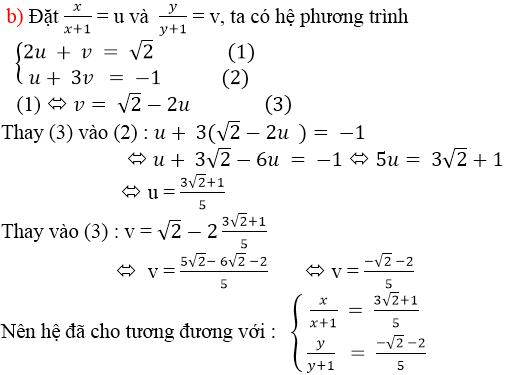 Giải bài 41 trang 27 SGK Toán 9 Tập 2   Giải toán lớp 9