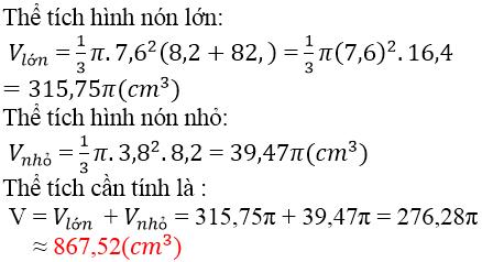 Giải bài 42 trang 130 SGK Toán 9 Tập 2 | Giải toán lớp 9