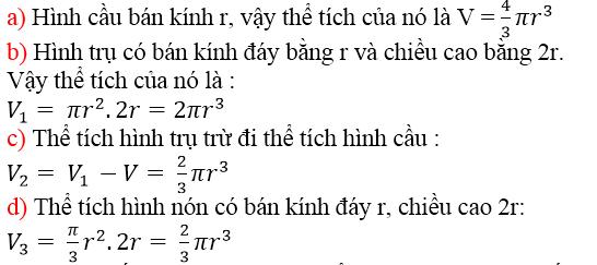 Giải bài 45 trang 130 SGK Toán 9 Tập 2 | Giải toán lớp 9
