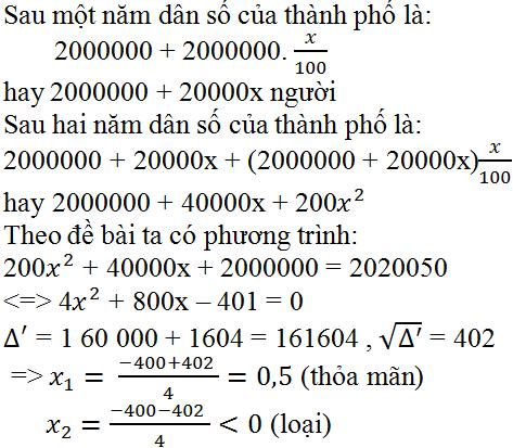 Giải bài 63 trang 64 SGK Toán 9 Tập 2   Giải toán lớp 9