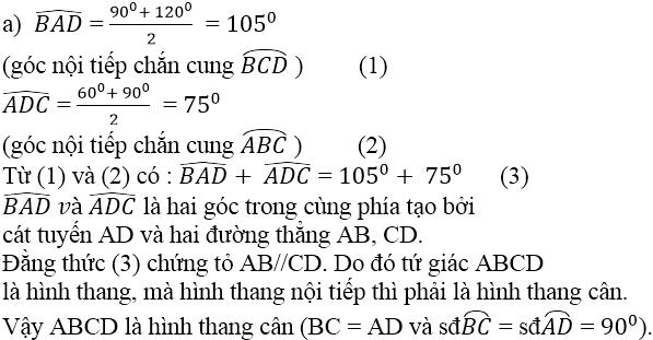 Giải bài 64 trang 92 SGK Toán 9 Tập 2 | Giải toán lớp 9