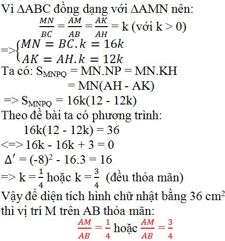 Giải bài 66 trang 64 SGK Toán 9 Tập 2   Giải toán lớp 9